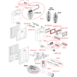 Alcaplast AM100/1000 Pótalkatrészek