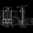 AlcaPLAST AM101/850 műszaki rajz