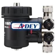 ADEY MagnaClean Micro 2 kombinált mágneses/finomszűrő, 22mm