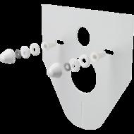 M910 Zajcsökkentő lemez függesztett WC-hez és bidéhez tartozékokkal