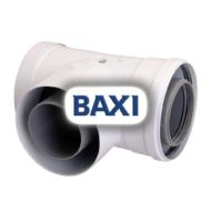 BAXI PPs könyök ellenőrző idom, 80/125mm
