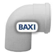 BAXI PPs könyök 90° d80mm