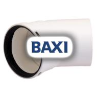 BAXI PPs könyök 45° d80mm