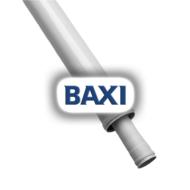 BAXI PPs toldócső d80/125mm L=500mm