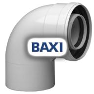 BAXI PPs könyök 90° d80/125mm