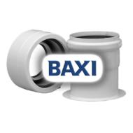 BAXI PPs indítóidom szétválasztott elvezetéshez d80/125-80/80mm