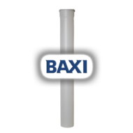 BAXI PPs toldócső d125mm L=1000mm