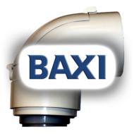 BAXI PPs könyök ellenőrző idom 60/100mm