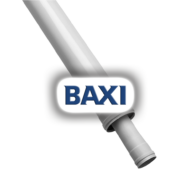 BAXI PPs toldócső d110/160mm L=500mm