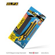 OLFA L-7 - 18mm-es csavaros rögzítésű kés + 5db LBB fekete penge