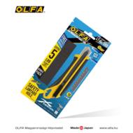 OLFA L-7 - AL 18mm-es automata rögzítésű kés + 5db LBB fekete penge