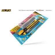 OLFA L-5 - 18mm-es csavaros rögzítésű kés + 5db LFB-5B penge