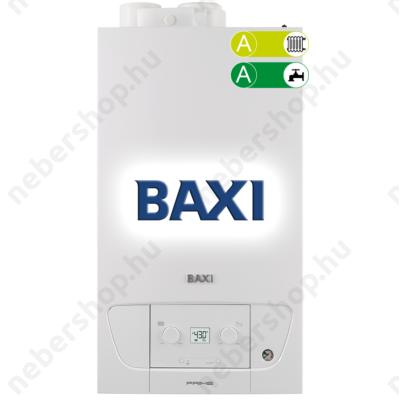 BAX_PRIME-28P_BAXI Prime 28 ERP kombi kazán, kondenzációs, fali, F:24kW, HMV:28kW, IPX5D