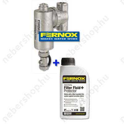 """FERNOX TF1 Omega Filter 1""""+Filter Fluid Protector"""