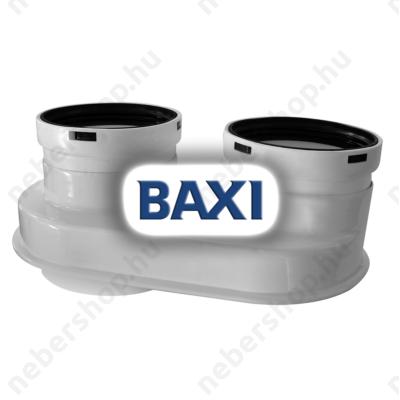 BAX_710268902_BAXI PPs indítóidom szétválasztott elvezetéshez d60/100-80/80mm (elfordítható)