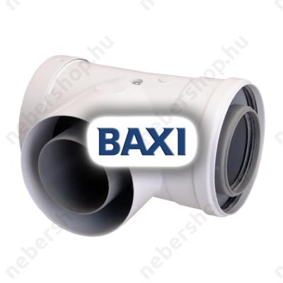 BAX_KA00055_BAXI PPs könyök ellenőrző idom, 80/125mm