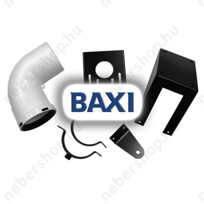BAX_KHG714106010_BAXI PPs kondenzációs könyök tartósínnel, 90° d80mm