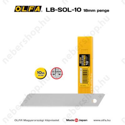 OLFA LB-SOL-10 - 18mm-es nem tördelhető penge
