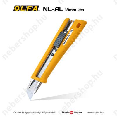 OLFA NL-AL - 18mm-es automata rögzítésű kés / sniccer